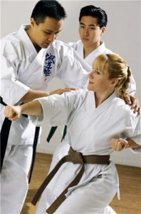 Being authoritative is critical for tae kwon do instructors.