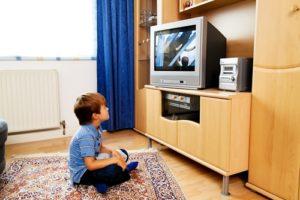 Characters in programming for children often exhibit unhealthy habits.
