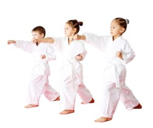 Kids can learn valuable life skills through martial arts.