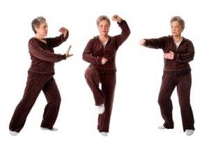 Martial arts can be very beneficial to the elderly.