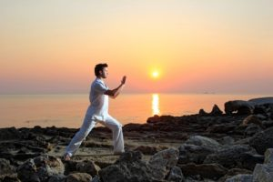 Martial arts can help alleviate stress.