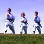 Martial arts training can build confidence and ensure kids get enough physical activity.