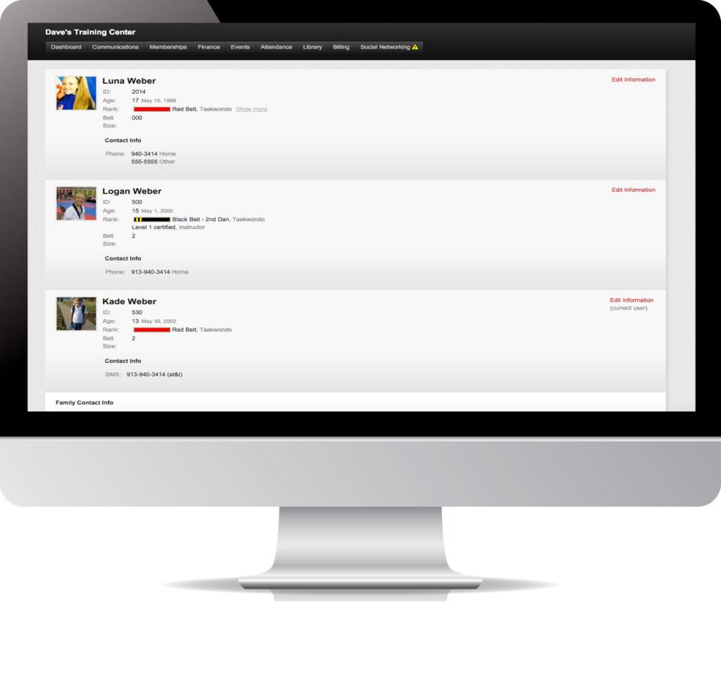 kicksite student portal example