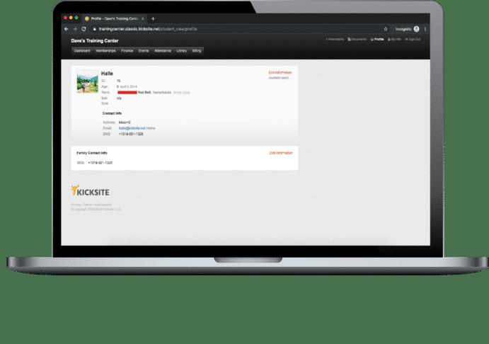 Student User Portal