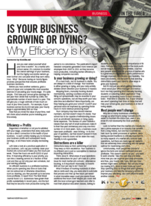 Kicksite's TKD times article