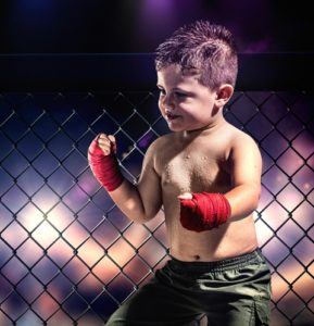 Young children can avoid teasing with martial arts training.