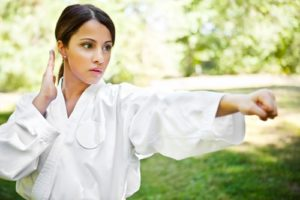 Martial arts can be very empowering for women.