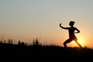 Tai chi is great for stress relief.