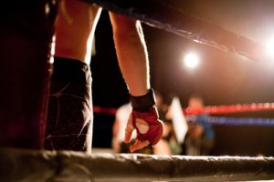 You're not too big or too small to participate in mixed martial arts.