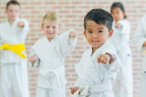 Kicksite Martial Arts class example