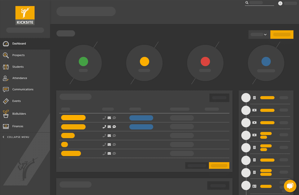 dark dashboard with shapes_v2