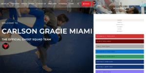 Carlson Gracie Miami BJJ Website