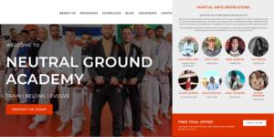 Neutral Ground Academy Martial Arts Website